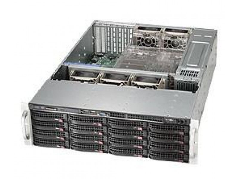 Корпус для сервера 3U 920W EATX CSE-836BE16-R920B SUPERMICRO