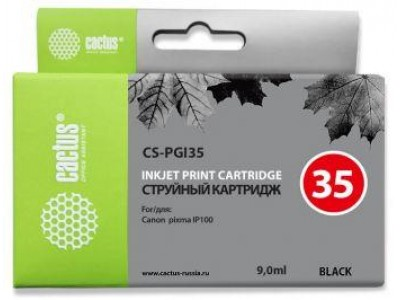 Картридж BLACK 9ML CS-PGI35 CACTUS