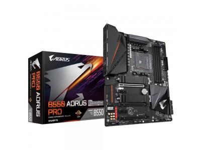 Материнская плата AMD B550 SAM4 ATX B550 AORUS PRO GIGABYTE