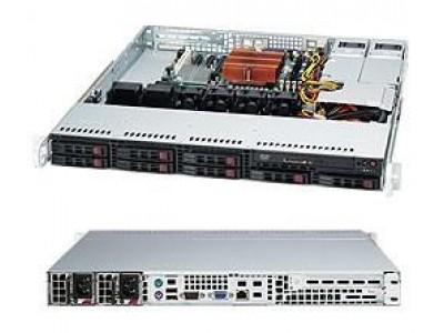 Корпус для сервера 1U 400W BLACK CSE-113MTQ-R400CB SUPERMICRO