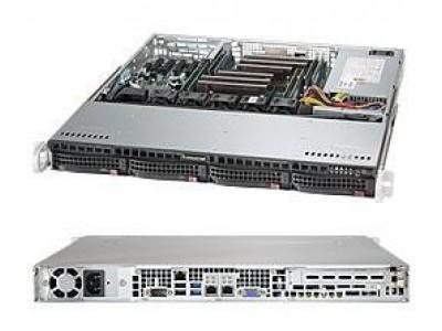 Серверная платформа 1U SATA BLACK SYS-6018R-MT SUPERMICRO