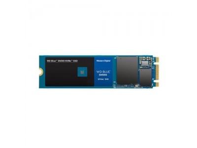 SSD жесткий диск M.2 2280 250GB TLC BLUE WDS250G1B0C WDC