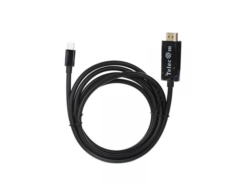 Кабель а/в TELECOM 1.8m м MINI DP -> HDMI TA695