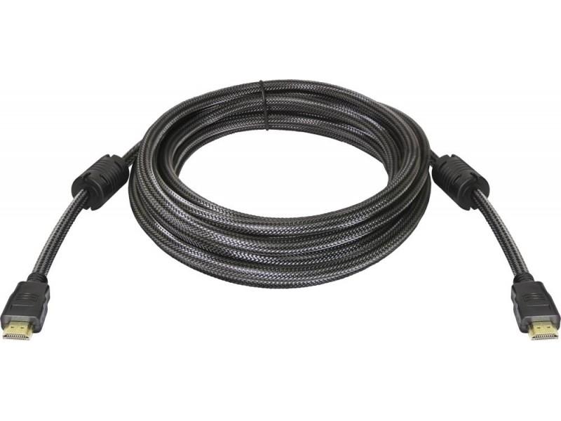 Кабель а/в DEFENDER 5m м HDMI M-HDMI M 87460