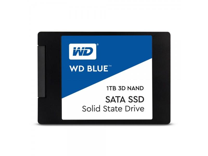 """SSD жесткий диск SATA2.5"""" 1TB TLC BLUE WDS100T2B0A WDC"""