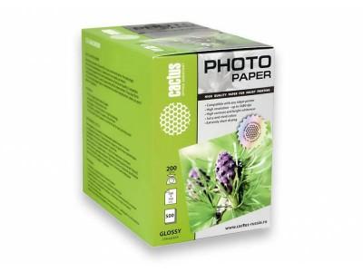 Бумага 10X15CM PHOTO GLOSSY 500SH CS-GA6200500 CACTUS