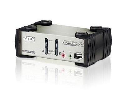 KVM-переключатель PS2 USB VGA 2PORT CS1732B-A7-G ATEN