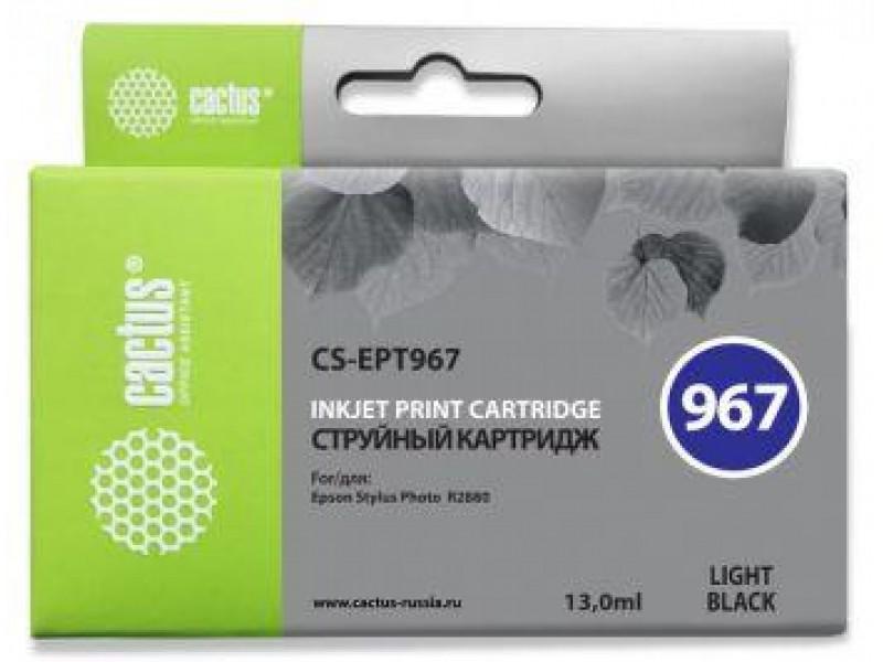 Картридж GREY 13ML CS-EPT967 CACTUS