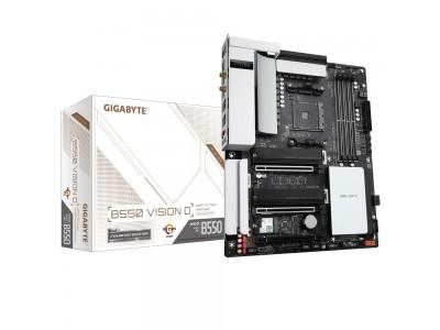 Материнская плата AMD B550 SAM4 ATX B550 VISION D GIGABYTE