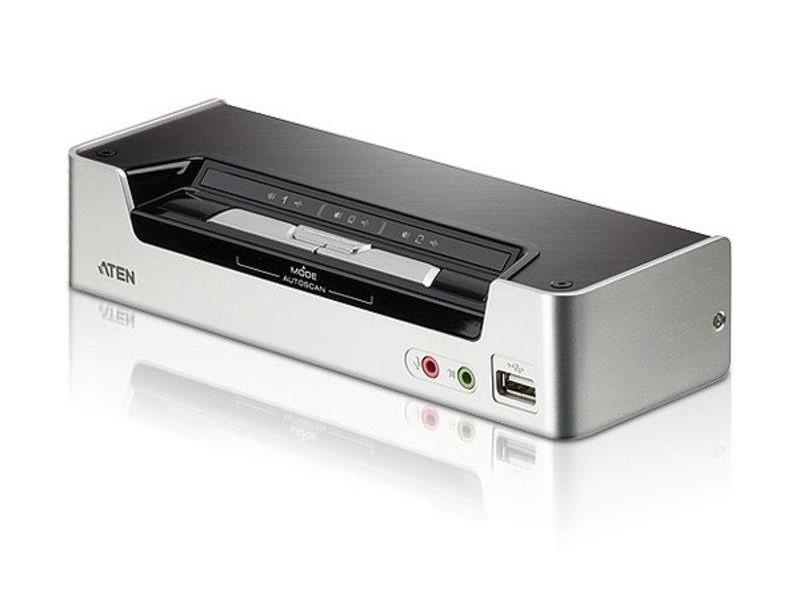 KVM-переключатель USB HDMI AUD 2PORT CS1792-AT-G ATEN