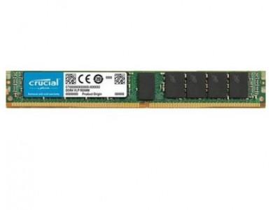 Модуль памяти CRUCIAL DDR4 16Гб UDIMM/ECC/VLP 2666 МГц Множитель частоты шины 19 1.2 В CT16G4XFD8266