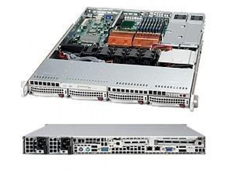 Корпус для сервера 1U 650W BLACK CSE-815TQ-R650B SUPERMICRO