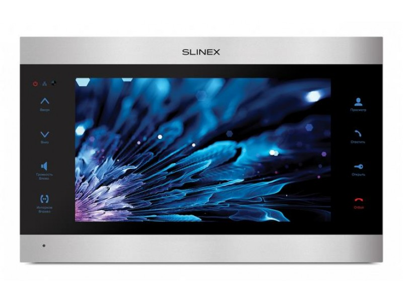 "Монитор LCD 10"" IP DOORPHONE SL-10IPT SILVER/BLACK SLINEX"