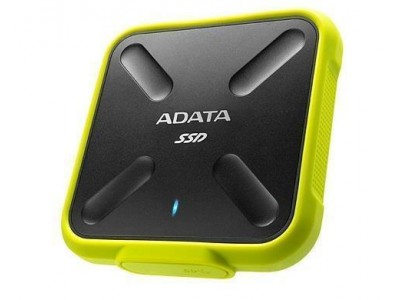 SSD жесткий диск USB3.2 256GB EXT. YELLOW ASD700-256GU31-CYL A-DATA