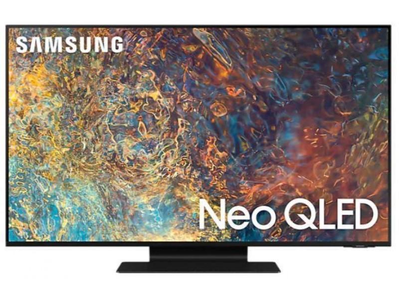 "Телевизор SAMSUNG 85"" 4K/Smart QLED 3840x2160 Wi-Fi Bluetooth Tizen черный QE85QN90AAUXRU"