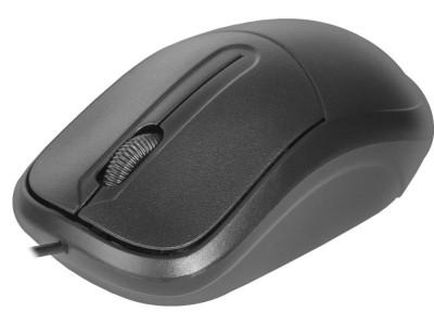 Мышка USB OPTICAL ISA-531 BLACK 52531 DEFENDER