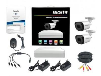 Комплект видеонаблюдения 4CH + 2CAM KIT FE-104MHD LIGHT SMA FALCON EYE