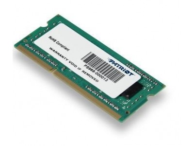 Модуль памяти для ноутбука 4GB PC12800 DDR3 SO PSD34G160081S PATRIOT