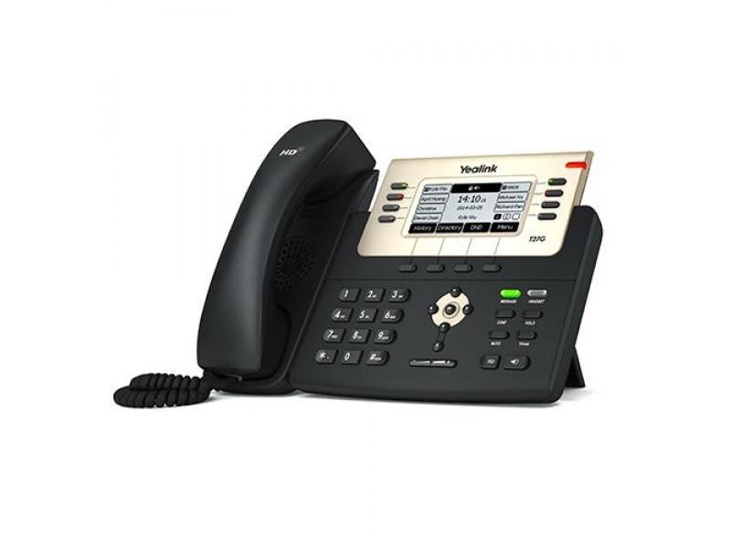 Телефон VOIP 6LINE SIP-T27G YEALINK