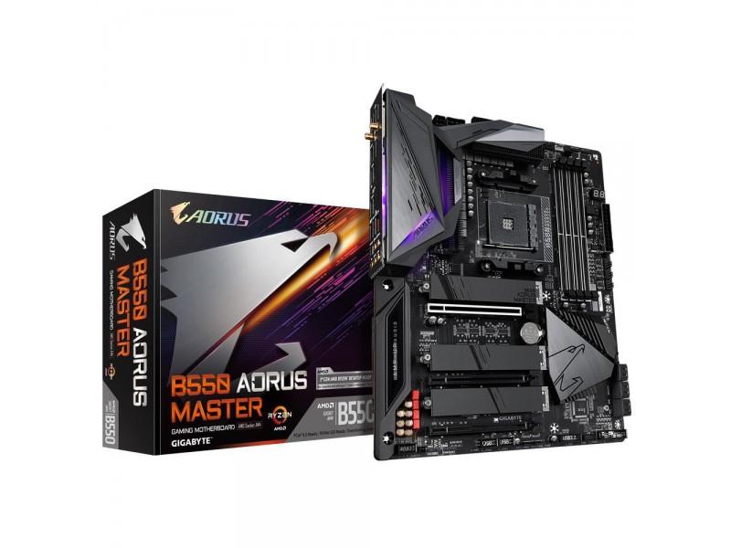 Материнская плата AMD B550 SAM4 ATX B550 AORUS MASTER GIGABYTE