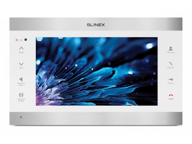 "Монитор LCD 10"" IP DOORPHONE SL-10IPT SILVER/WHITE SLINEX"