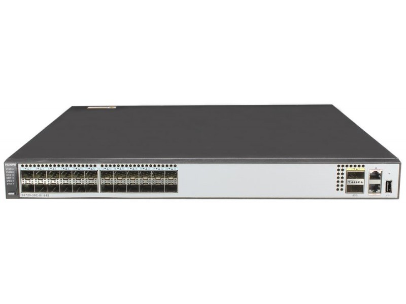 Коммутатор 24SFP+ 2QSFP+ 1SL S6720-30C-EI-24S-DC HUAWEI