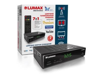 ТВ-ресивер DVB-T2 DV3215HD LUMAX