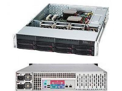 Корпус для сервера 2U 740W EATX CSE-825TQC-R740LPB SUPERMICRO