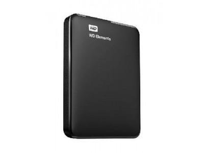 "Внешний жесткий диск USB3 1TB EXT. 2.5"" BLACK WDBUZG0010BBK-WESN WDC"