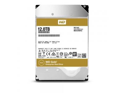 Жесткий диск SATA 12TB 7200RPM 6GB/S 256MB GOLD WD121KRYZ WDC