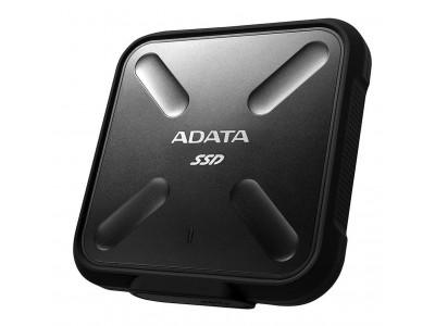 SSD жесткий диск USB3.2 256GB EXT. BLACK ASD700-256GU31-CBK A-DATA