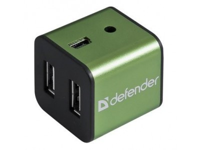 Концентратор USB2 4PORT QUADRO IRON 83506 DEFENDER