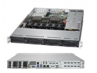 Корпус для сервера 1U 700/750W CSE-815TQC-R706WB2 SUPERMICRO