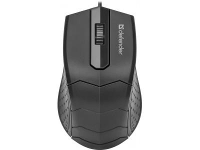 Мышка USB OPTICAL MB-530 52530 DEFENDER
