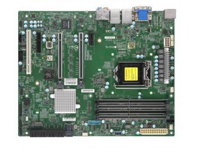 Серверная материнская плата C246 S1151 ATX MBD-X11SCA-F-B SUPERMICRO