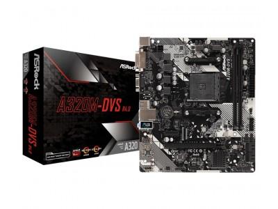 Материнская плата AMD A320 SAM4 MATX A320M-DVS R4.0 ASROCK