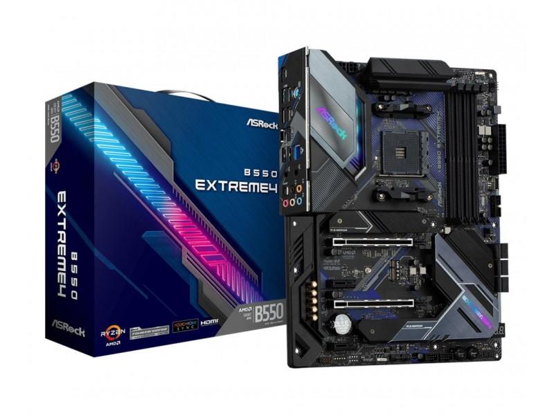 Материнская плата AMD B550 SAM4 ATX B550 EXTREME4 ASROCK