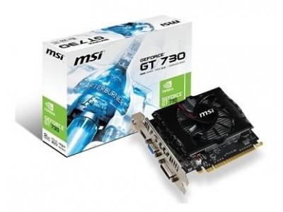Видеокарта PCIE16 GT730 2GB GDDR3 N730-2GD3V2 MSI