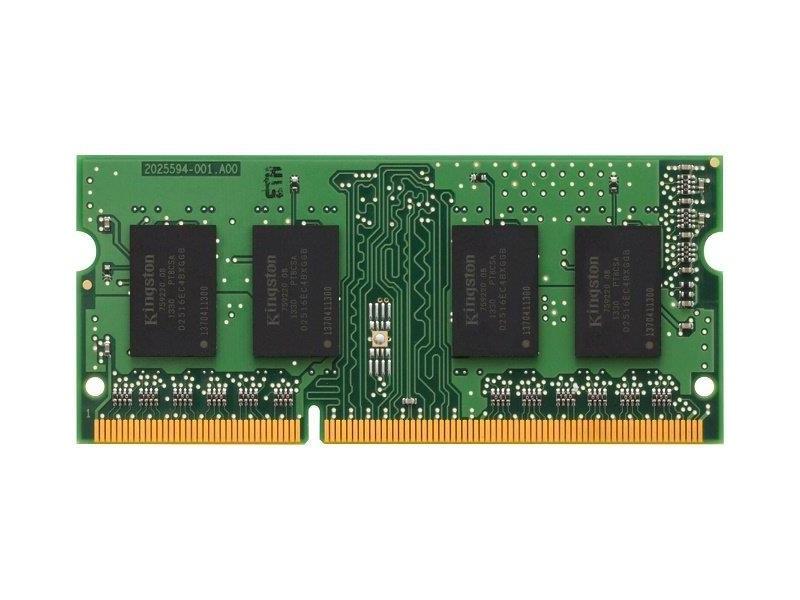 Модуль памяти для ноутбука SODIMM 4GB PC12800 DDR3 SO KVR16S11S8/4WP KINGSTON