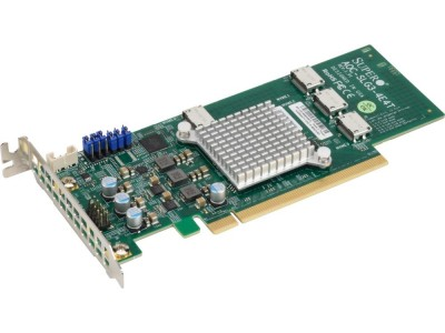Аксессуар для серверного оборудования NVME AOC CARD AOC-SLG3-4E4T-O SUPERMICRO