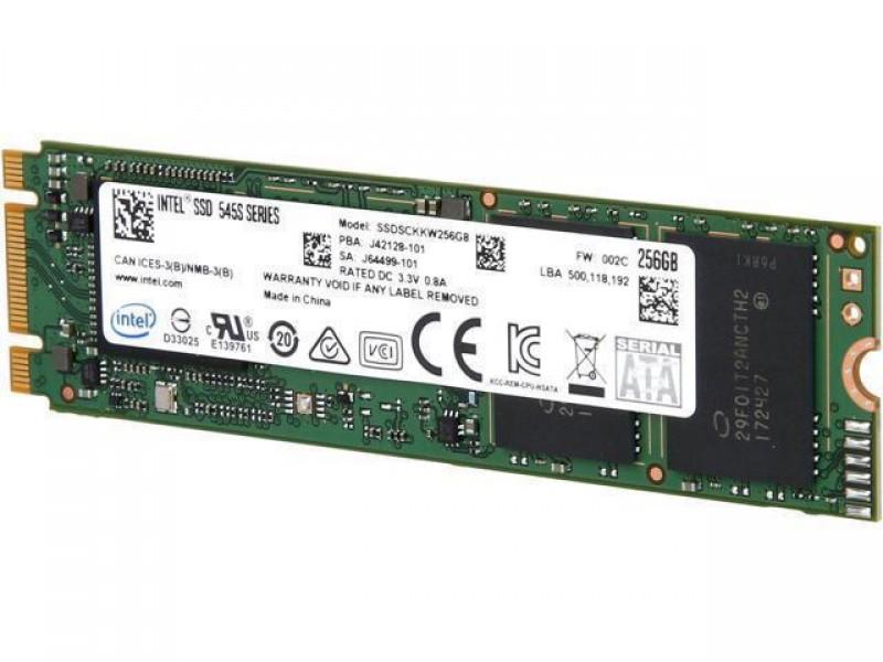 SSD жесткий диск M.2 2280 512GB TLC 545S SER SSDSCKKW512G8X1 INTEL