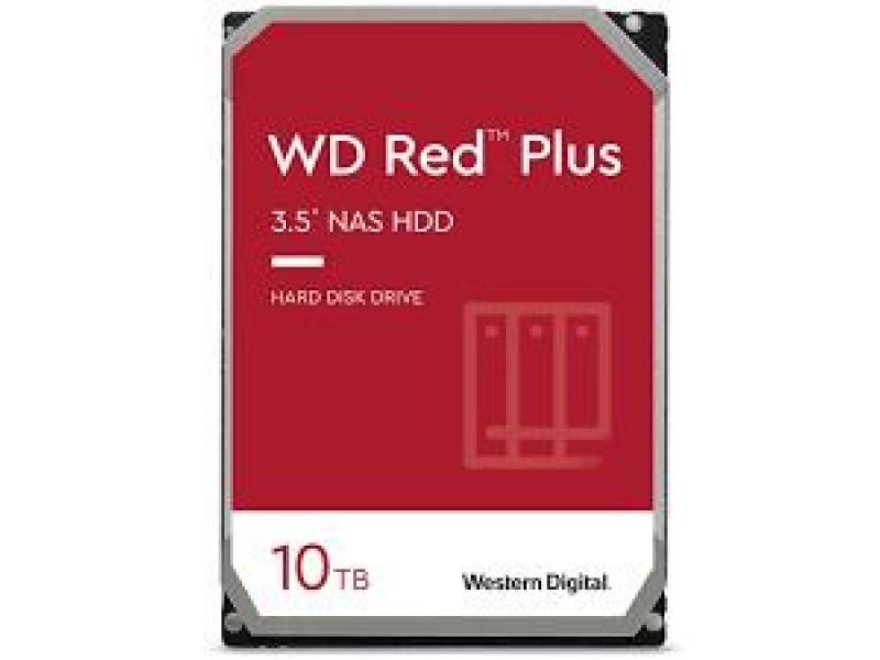 Жесткий диск SATA 10TB 6GB/S 256MB RED PLUS WD101EFBX WDC