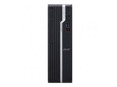 Персональный компьютер ACER Veriton VX2665G для бизнеса Desktop CPU Core i3 i3-9100 3600 МГц 4Гб DDR4 500Гб 7200 об/мин Intel UHD Graphics встроенная DVD+/-RW DOS черный DT.VSEER.05A