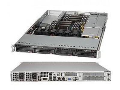 Серверная платформа 1U SAS/SATA SYS-6018R-WTR SUPERMICRO