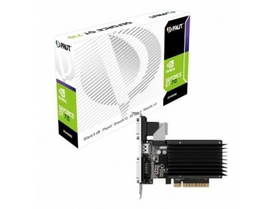 Видеокарта PCIE16 GT710 2GB GDDR3 PA-GT710-2GD3H PALIT