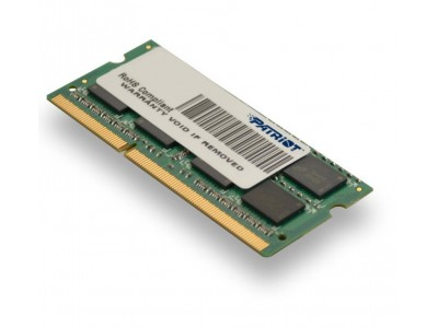 Модуль памяти для ноутбука 4GB PC12800 DDR3 SO PSD34G16002S PATRIOT