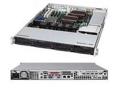Корпус для сервера 1U 560W BLACK CSE-815TQ-563CB SUPERMICRO