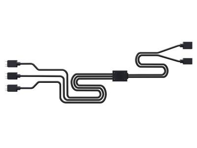 Разветвитель питания COOLER MASTER Addressable RGB 1-to-3 splitter MFX-AWHN-3NNN1-R1