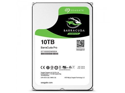 Жесткий диск SATA 10TB 7200RPM 6GB/S 256MB ST10000DM0004 SEAGATE