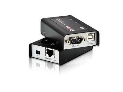 KVM-переключатель EXT CAT5 100M USB/VGA CE100-A7-G ATEN